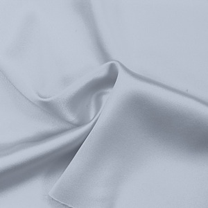 SILK CREPE BACK SATIN SOLIDS - GRAY DAWN [CBSP522]