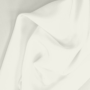 SILK CREPE DE CHINE SOLIDS - WHISPER WHITE [CDCP502]