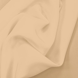 SILK CREPE DE CHINE SOLIDS - WINTER WHEAT [CDCP505]