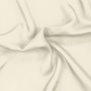 SILK DOUBLE GEORGETTE SOLIDS - ANTIQUE WHITE [DGP503]