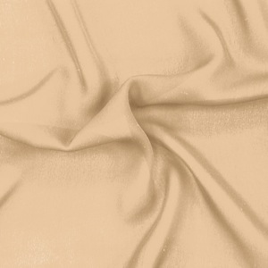 SILK DOUBLE GEORGETTE SOLIDS - WINTER WHEAT [DGP505]