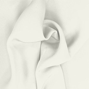SILK FOUR PLY CREPE SOLIDS - WHISPER WHITE [FCP502]