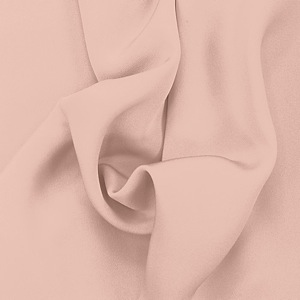 SILK FOUR PLY CREPE SOLIDS - PALE BLUSH [FCP509]