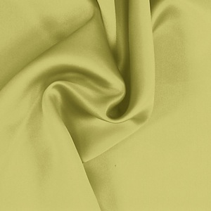 SILK CHARMEUSE SOLIDS - LINDEN GREEN [SCP536]
