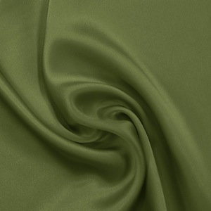 SILK CHARMEUSE SOLIDS - PESTO [SCP540]